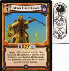 Akodo House Guard FOIL