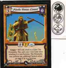 Akodo House Guard SIGNED