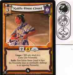 Kakita House Guard FOIL