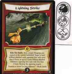 Lightning Strike FOIL