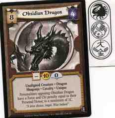 Obsidian Dragon FOIL