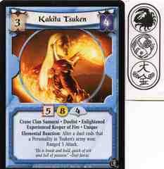 Kakita Tsuken (Experienced Keeper of Fire)