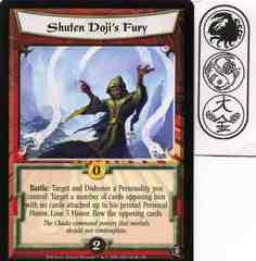Shuten Doji's Fury FOIL
