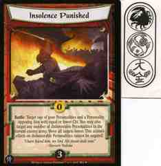 Insolence Punished FOIL