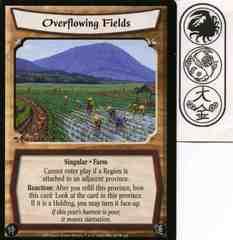 Overflowing Fields FOIL