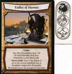 Valley of Heroes FOIL