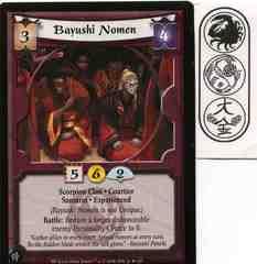 Bayushi Nomen (Experienced) FOIL