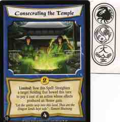 Consecrating the Temple FOIL