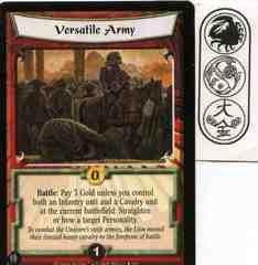 Versatile Army FOIL