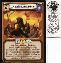Akodo Katsumoto FOIL