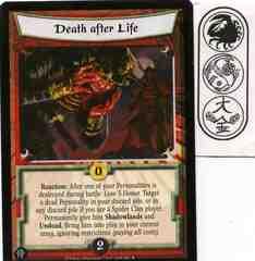 Death after Life FOIL