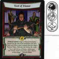 Test of Honor FOIL