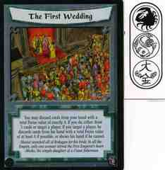 The First Wedding FOIL