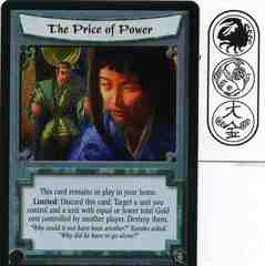 The Price of Power FOIL
