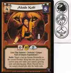 Akodo Kobi FOIL