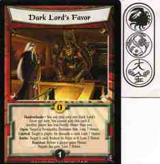 Dark Lord's Favor