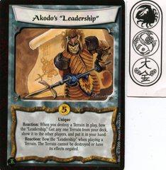 Akodo's 'Leadership'