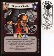 Bayushi Goshiu (Experienced 2)
