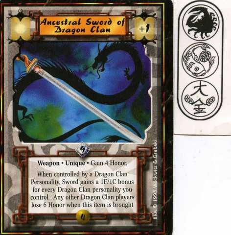 Ancestral Sword of Dragon Clan