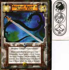 Ancestral Sword of Dragon Clan