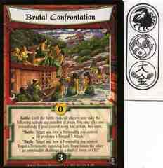 Brutal Confrontation FOIL
