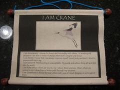 Crane Wall Scroll