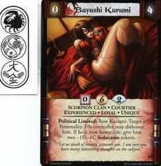 Bayushi Kurumi (Experienced)