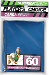 Players Choice Sleeves - Blue (Metallic)