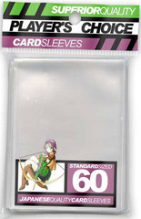 Players Choice Sleeves - Clear