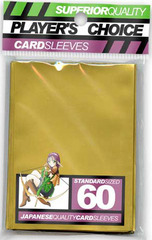 Players Choice Sleeves - Gold