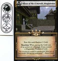 Offices of the Emerald Magistrates