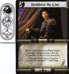 Reinforce the Line