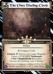 The Onyx Dueling Circle FOIL