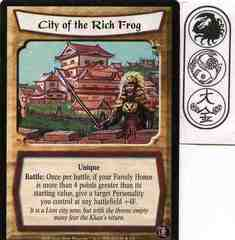 City of the Rich Frog FOIL