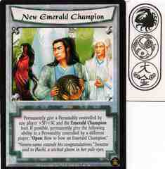 New Emerald Champion FOIL