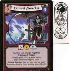 Bayushi Norachai (Experienced) FOIL