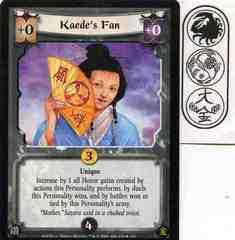 Kaede's Fan FOIL