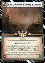 The Obsidian Dueling Grounds FOIL
