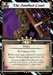 The Amethyst Court FOIL