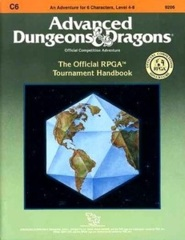 C6 The Official RPGA Tournament Handbook