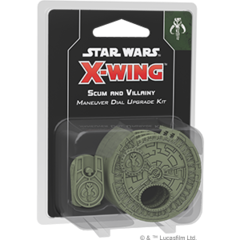 Pre-Order X-Wing 2nd Ed: Scum and Villainy Maneuver Dial