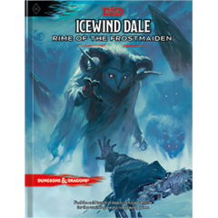 Icewind Dale: Rime of the Frostmaiden- Regular Cover