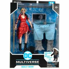 DC Multiverse: Harley Quinn- King Shark Build a figure