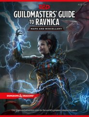 Dungeons and Dragons RPG - Guildmasters Guide to Ravnica (5th Edition) - Maps and Miscellany