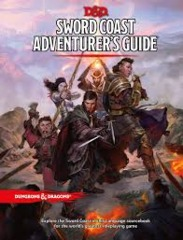 Dungeons & Dragons RPG - Sword Coast Adventurer's Guide (5th Edition)