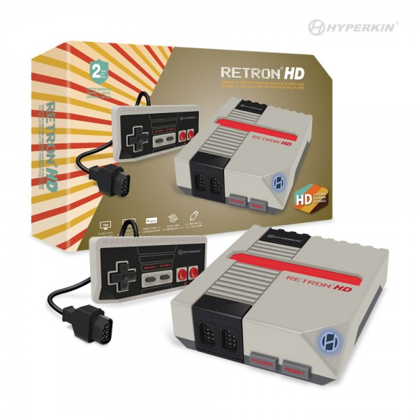(Hyperkin) RetroN 1 HD Gaming Console for NES (Gray)