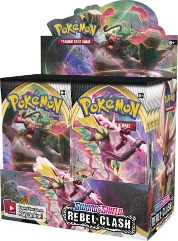 Sword & Shield - Rebel Clash Booster Box