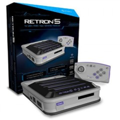 (Hyperkin) RetroN 5: HD Gaming Console for GBA/ GBC/ GB/ SNES/ NES/ Super Famicom/ Famicom/ Genesis/ Mega Drive/ Master System (