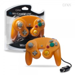 (Hyperkin) Cirka Orange Wii/Gamecube Controller - Wired