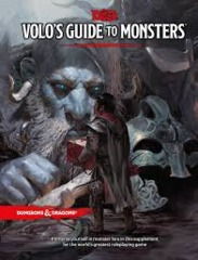 Dungeons & Dragons RPG - Volo's Guide to Monsters (5th Edition)